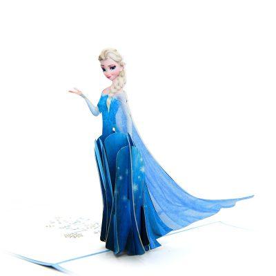 Elsa pop up card- disney pop up card- pop up card for kids- pop up card manufacturer- pop up card wholesaler-CharmPop (1)