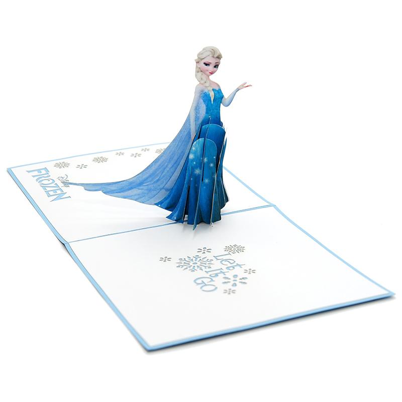 Elsa pop up card- disney pop up card- pop up card for kids- pop up card manufacturer- pop up card wholesaler-CharmPop (5)