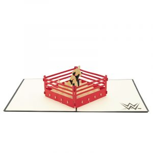 Wrestling pop up card--pop up card wholesale-popupcard manufacturer-Christmas pop up card (3)
