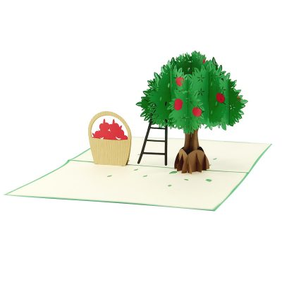 Apple-tree-pop-up-card-manufacturer–pop-up-card-birthday–pop-up-card-suplier-vietnam2