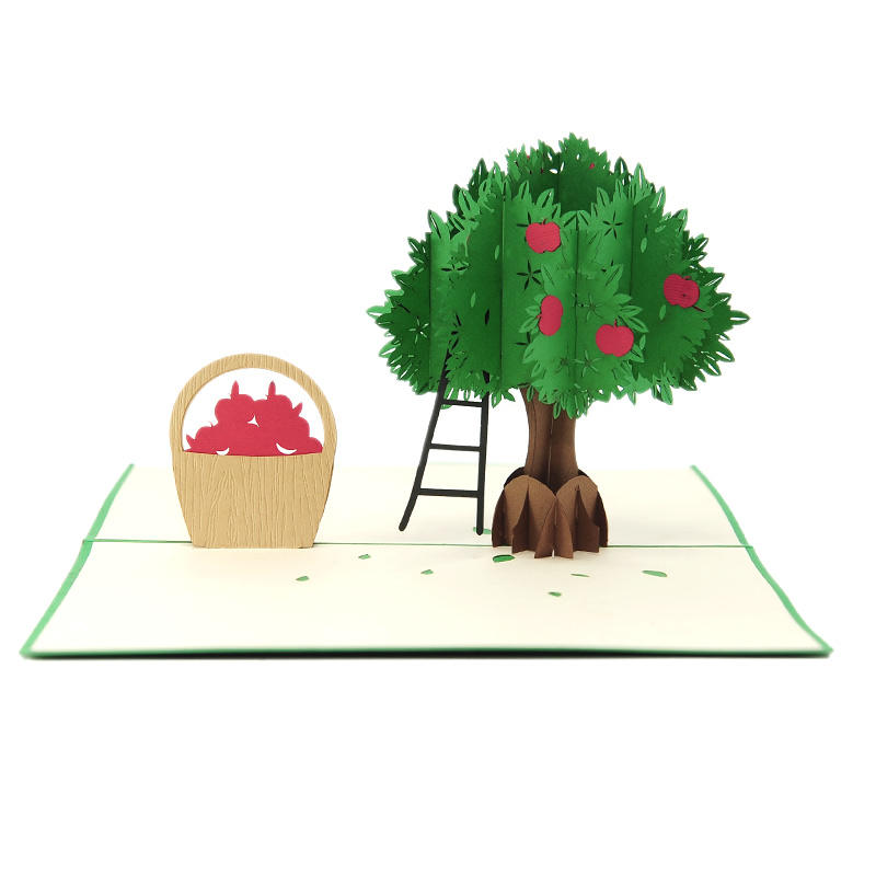 Apple-tree-pop-up-card-manufacturer–pop-up-card-birthday–pop-up-card-suplier-vietnam3