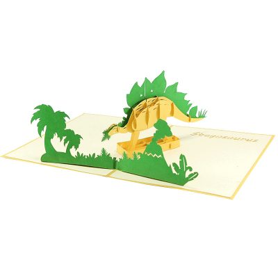 Stegosaurus pop up card- pop up card wholesale- pop up card manufacturer- pop up card vietnam (2)