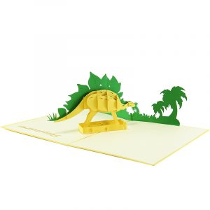 Stegosaurus pop up card- pop up card wholesale- pop up card manufacturer- pop up card vietnam (3)