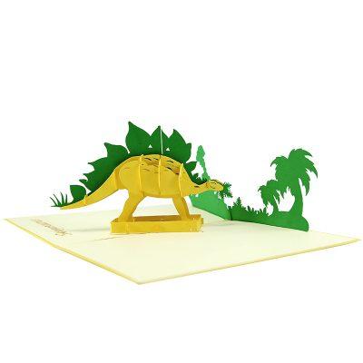 Stegosaurus pop up card- pop up card wholesale- pop up card manufacturer- pop up card vietnam (4)