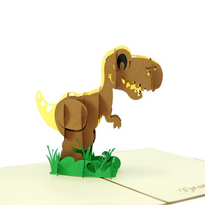 t-rex pop up card- dinosaur pop up card- pop up card manufacturer – pop up card manufacturer vietnam (1)