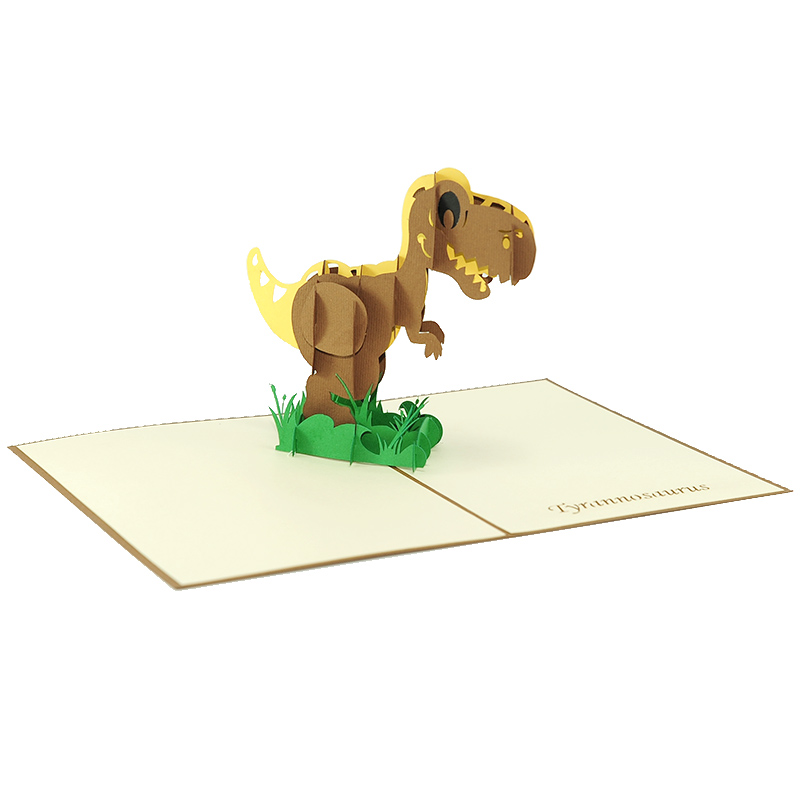 t-rex pop up card- dinosaur pop up card- pop up card manufacturer – pop up card manufacturer vietnam (4)