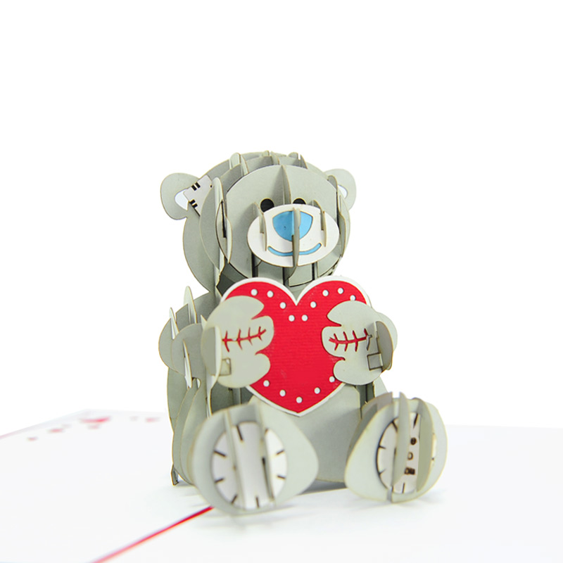 Pop Up Bear : Me to you bear pop up love card