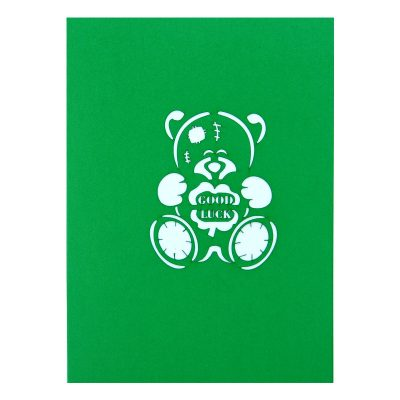 Lucky bear pop up card-pop up card manufacture-pop up cards supplier vietnam4