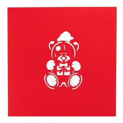 MC091-15×15-Noel bear pop up card- pop up Christmas me to you cards- me to you greeting card Christmas-Xmas tatty bear greetingcards-charmpop cards (4)