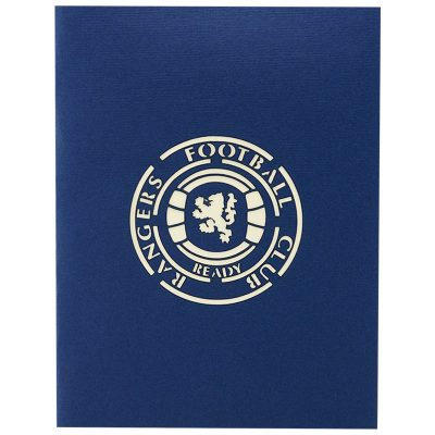 ST015- pop up Ranger greeting cards- greetingcards Ranger football club-kirigami stadium greeting cards- Rangers cards pop up- charmpop cards (3)