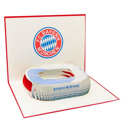 ST016- pop up Bayern Munchen greeting cards- greetingcards Bayern Munchen-kirigami stadium greeting cards- bayern munchen cards pop up- charmpop cards1 ) (4)