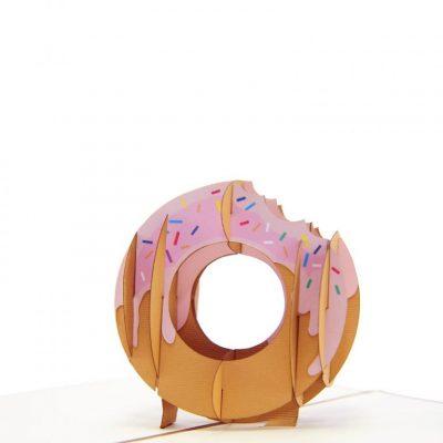 Donut pop up card-pop up card manufacture-pop up card vietnam- pop up cards supplier3