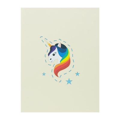 Unicorn pop up card-pop up card manufacture-pop up card vietnam