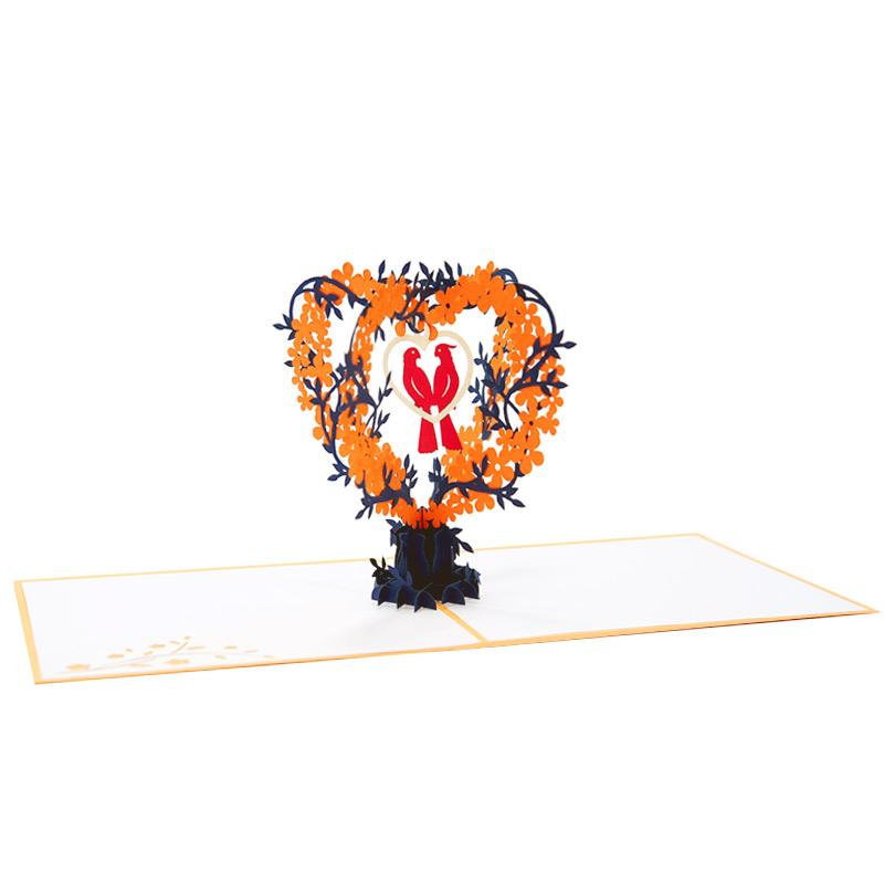 wd043-love birds pop up card-wedding-pop-up-invitation-charmpop (3)