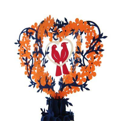 wd043-love birds pop up card-wedding-pop-up-invitation-charmpop (4)