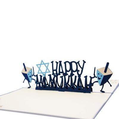 Happy hanukkah pop up card-greeting cards Jewish-charmpop (1)