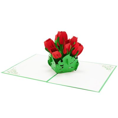 tulips pop up card-3d greeting cards flower-charmpop (4)