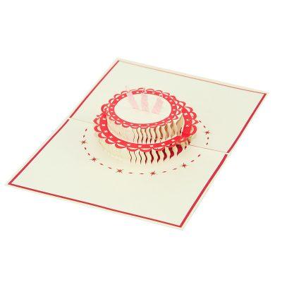 Birthday cake pop up card-pop up card manufacture-pop up card vietnam- pop up cards supplier5