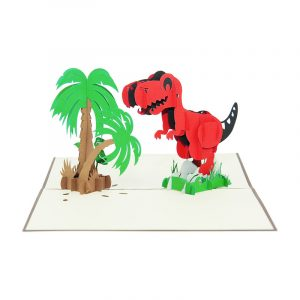 Dinosaur pop up card-pop up card wholesale-pop up card vietnam