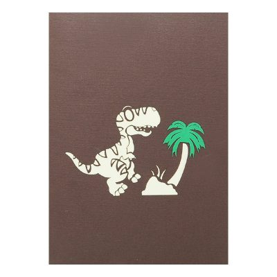 Dinosaur pop up card-pop up card wholesale-pop up card vietnam1