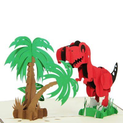 Dinosaur pop up card-pop up card wholesale-pop up card vietnam3