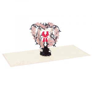 Love birds pop up card-pop up card wholesale-pop up card vietnam4