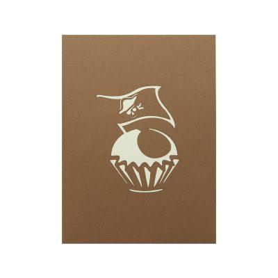 cupcake-pirate-pop up card wholesale- pop card supplier Charmpop4