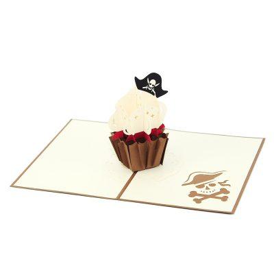 cupcake-pirate-pop up card supplier pop up card vietnam