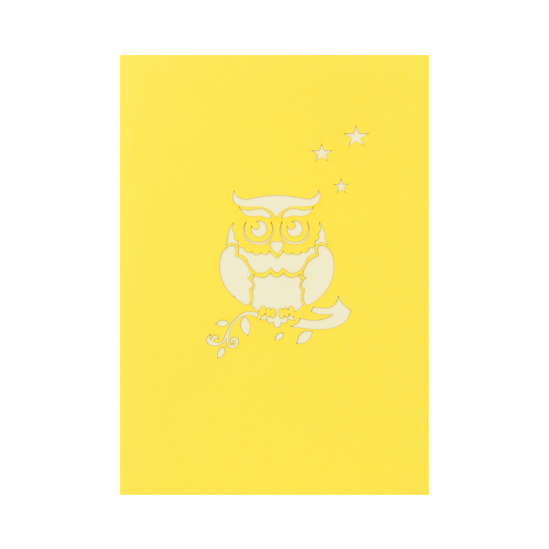 Birthday owl pop up card birthday owl greeting card wholsale pop birthday owl pop up card birthday owl greeting card wholsale pop up cards manufacturer vietnam m4hsunfo
