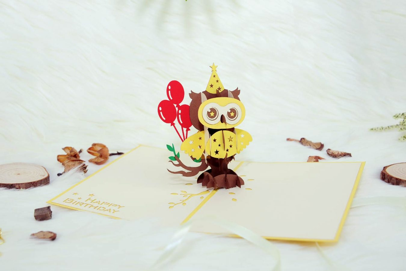 Perfect Words For Owl Themed Greeting Cards Owl Pop Up Cards