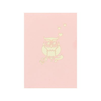 Owl balloon pop up cards wholesale birthday handmade greeting card manufactuer (15)