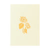 sun flower pop up card greeting card sunflower birthday handmade wholesale (6)