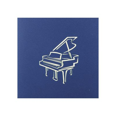 Piano pop up card-greeting card handmade wholesale-supplier 3d greeting card (2)