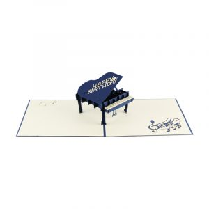 Piano pop up card-greeting card handmade wholesale-supplier 3d greeting card (3)