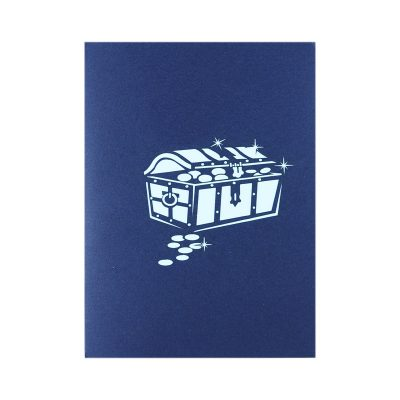 ship pop up card-greeting card 3d supplier handmade card wholesale (2)