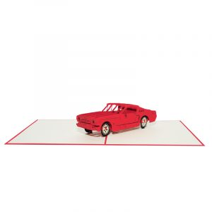 Classic car pop up card- pop up card supplier pop up card company (13)
