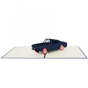 Classic car pop up card- pop up card supplier pop up card company (5)
