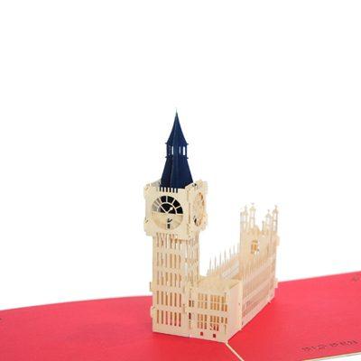 Big Ben pop up card- pop up card company (1)