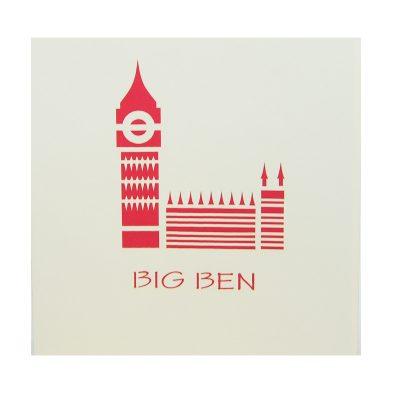 Big Ben pop up card- pop up card company (2)