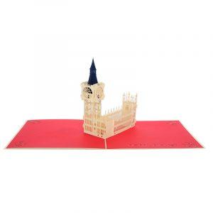Big Ben pop up card- pop up card company (3)