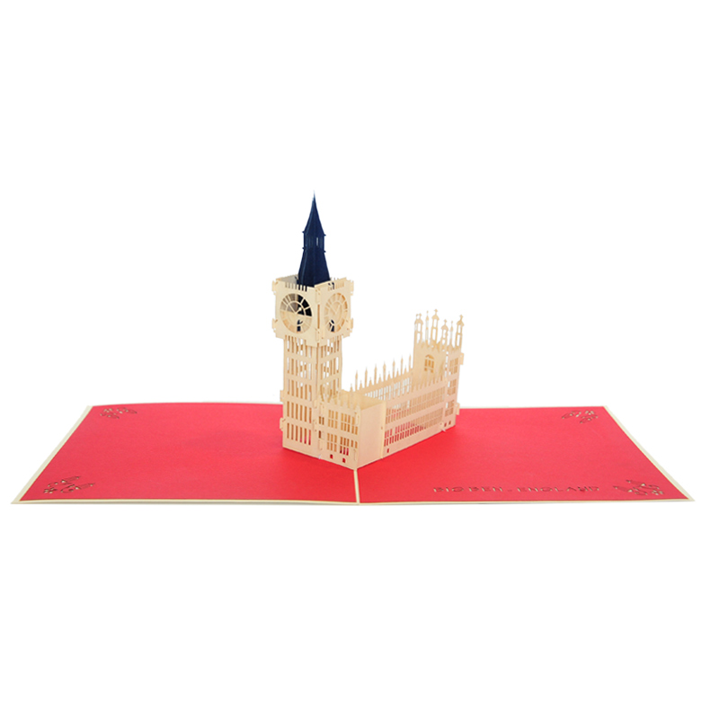Big Ben pop up card- pop up card company (3)