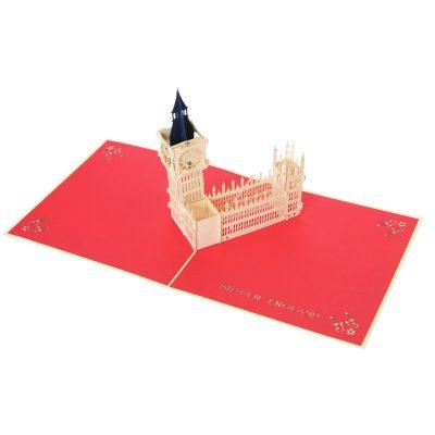 Big Ben pop up card- pop up card company (4)