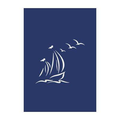 Sailing ship pop up card-pop up card manufacture (2)