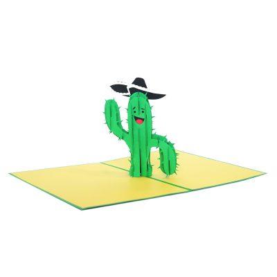 cactus pop up card wholesale pop up card company (1)