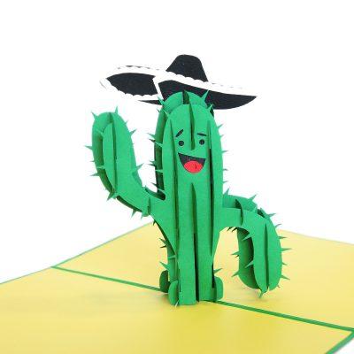 cactus pop up card wholesale pop up card company (2)