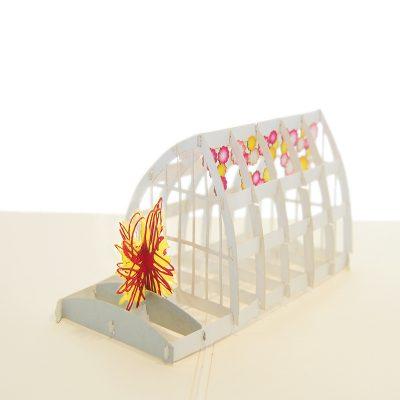 green house pop up card-pop up cards supplier- pop up cads wholesale. (1)