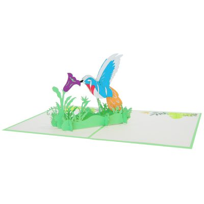 humming bird pop up cards-pop up card manufacture-pop up cards vietnam (2)