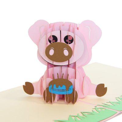 pig pop up cards-pop up cards wholesale-pop up cards supplier (1)