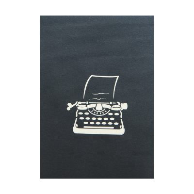you are my type pop up card company company typewritter greeting card (5)