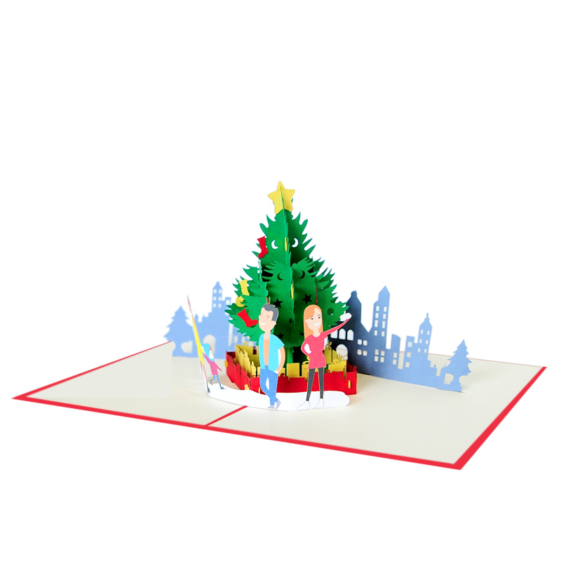 Christmas selfie pop up cards- Christmas pop up cards wholesale (4 ...